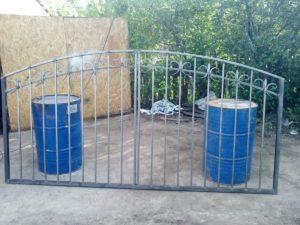 Ворота и ограждения 01